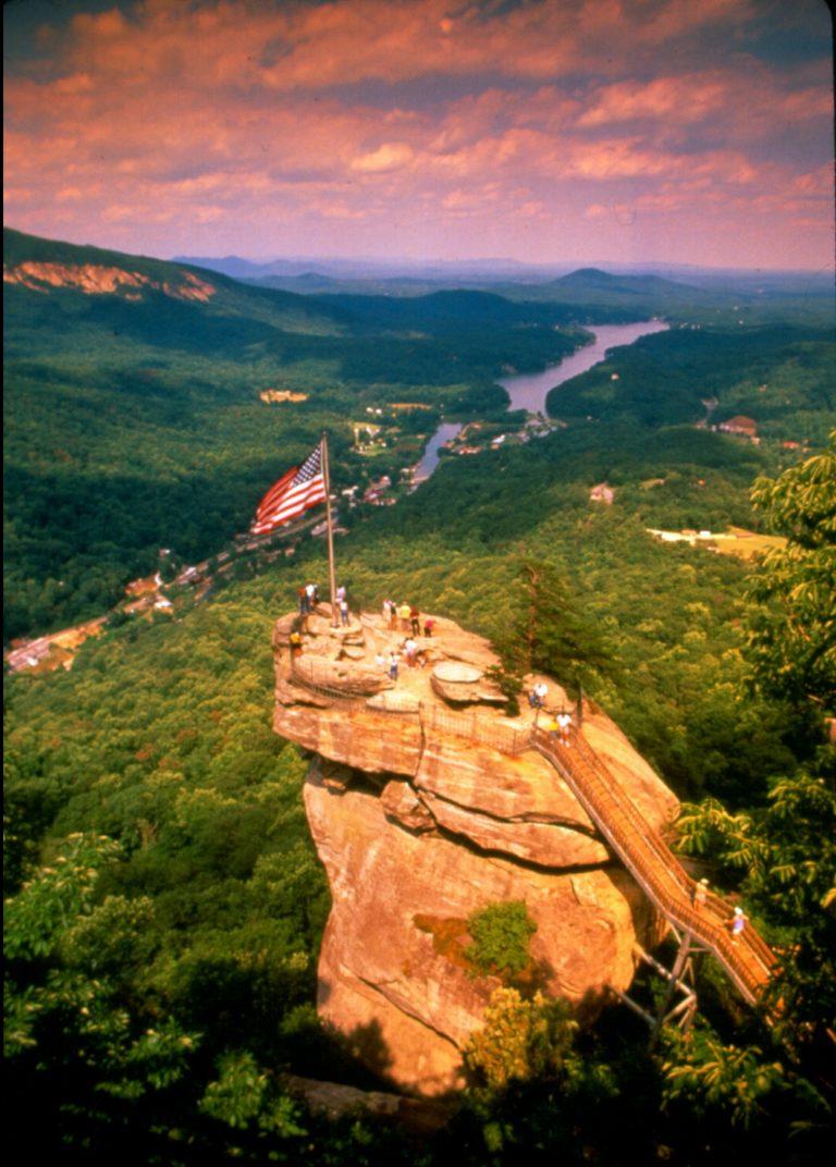 Chimney Rock Western North Carolina
